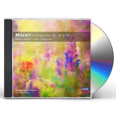 W.A. Mozart SINFONIEN NOS.31-35-36 CD