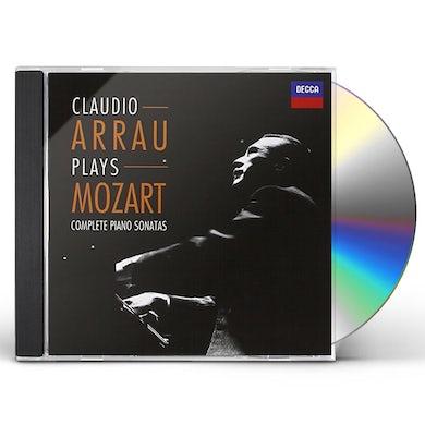 Claudio Arrau COMPLETE PIANO SONATAS (MOZART) CD