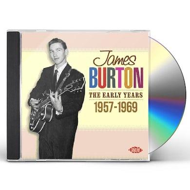 James Burton EARLY YEARS 1957 - 1969 CD