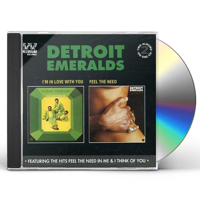 Detroit Emeralds I'M IN LOVE WITH YOU/FEEL NEED IN ME CD