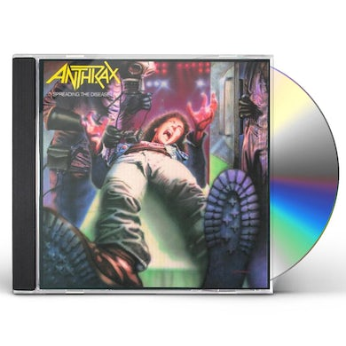 Anthrax SPREADING THE DISEASE CD