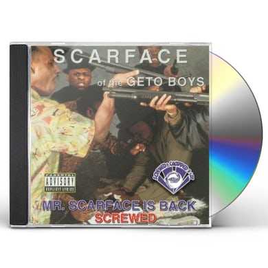MR SCARFACE IS BACK CD