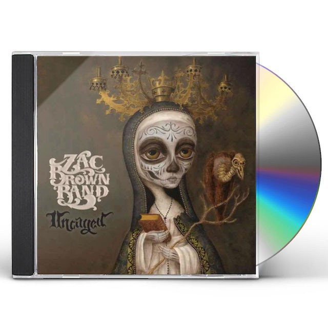 Zac Brown UNCAGED CD