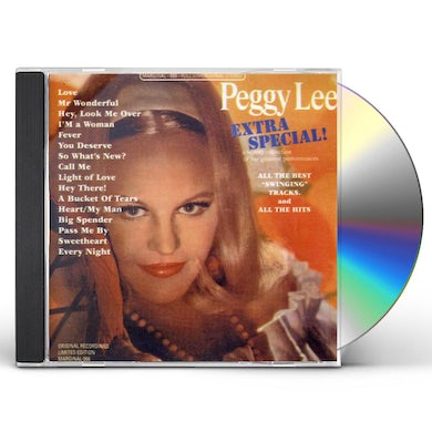 Peggy Lee EXTRA SPECIAL CD