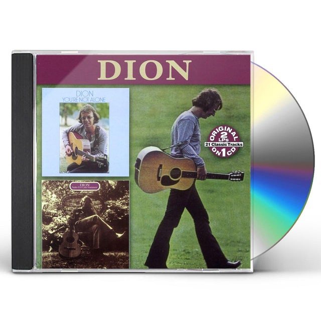 Dion YOU'RE NOT ALONE / SUITE FOR LATE SUMMER CD