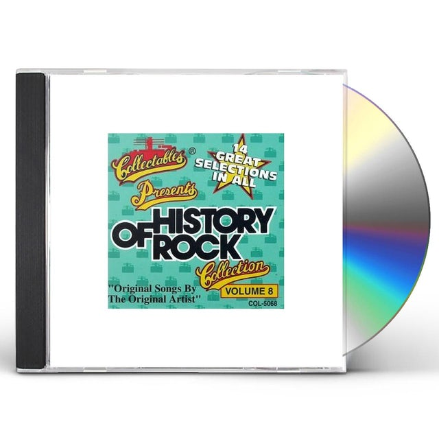 History Of Rock 8 / Various CD