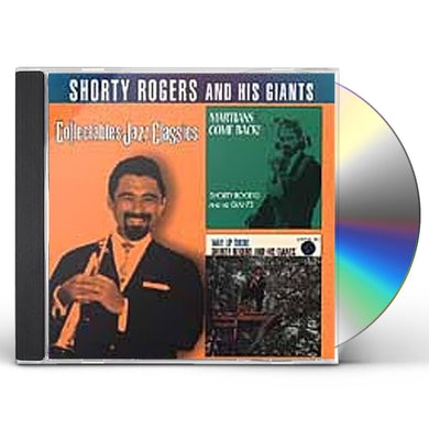 Shorty Rogers MARTIANS COME BACK / WAY UP THERE CD