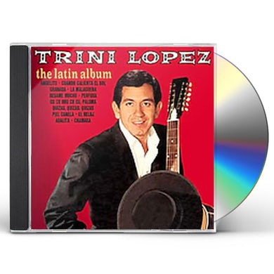 Trini Lopez LATIN ALBUM CD
