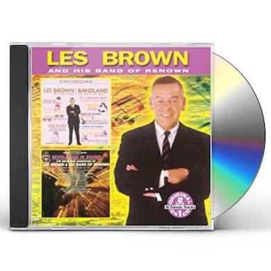 Les Brown BANDLAND / REVOLUTION IN SOUND CD