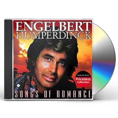 Engelbert Humperdinck SONGS OF ROMANCE CD