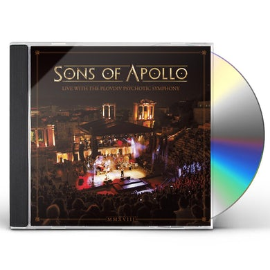 Sons Of Apollo LIVE WITH THE PLOVDIV PSYCHOTIC SYMPHONY CD