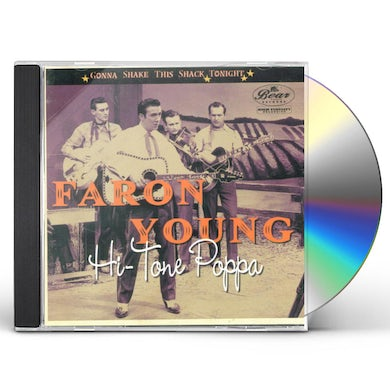 Faron Young GONNA SHAKE THIS SHACK TONIGHT-HI-TONE POPPA CD