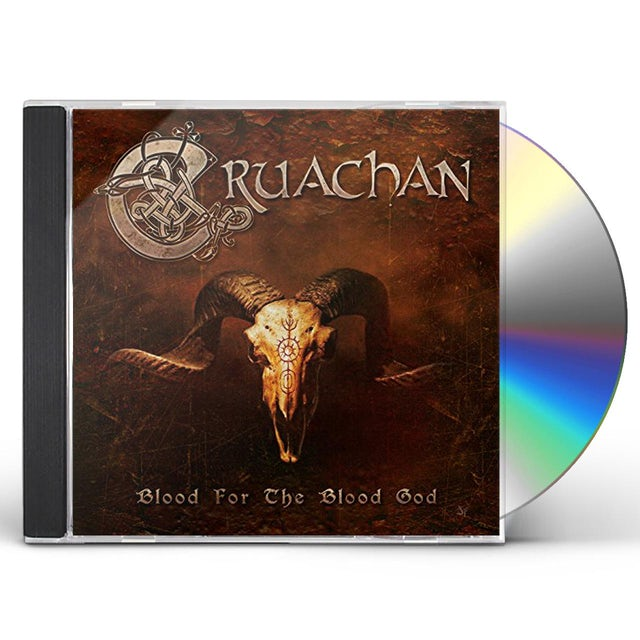 Cruachan BLOOD FOR THE BLOOD GOD CD