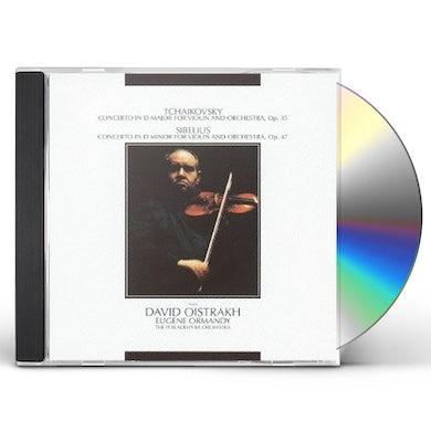 David Oistrakh TCHAKOVSKY: VIOLIN CONCERTO. SIBELIUS: VIOLIN CONC CD