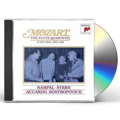 Jean-Pierre Rampal MOZART: THE FLUTE QUARTETS CD