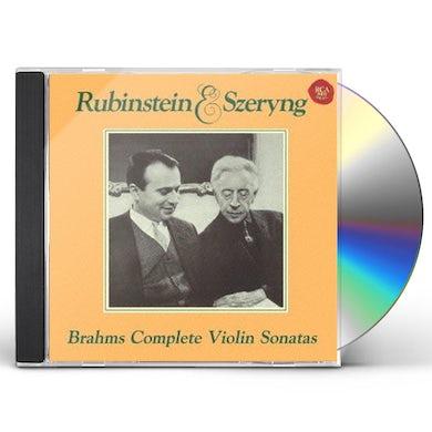 Henryk Szeryng BRAHMS: COMPLETE VIOLIN SONATAS CD