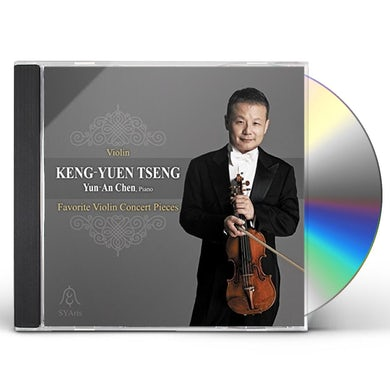 Keng-Yuen Tseng FAVORITE VIOLIN CONCERT PIECES CD