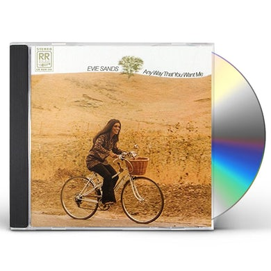Evie Sands ANY WAY THAT YOU WANT ME CD