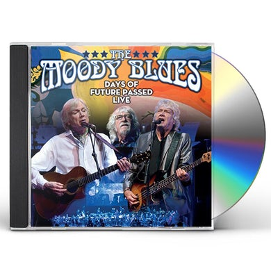 The Moody Blues DAYS OF FUTURE PASSED LIVE CD