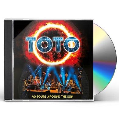 Toto 40 TOURS AROUND THE SUN CD