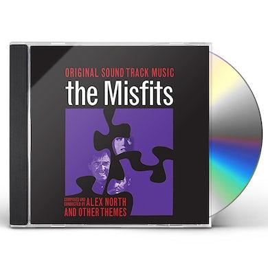 Alex North MISFITS & OTHER THEMES / Original Soundtrack CD