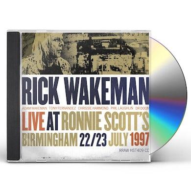 Rick Wakeman LIVE AT RONNIE SCOTTS CD