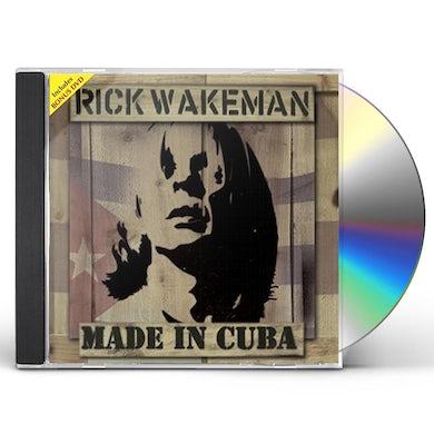 Rick Wakeman MADE IN CUBA CD