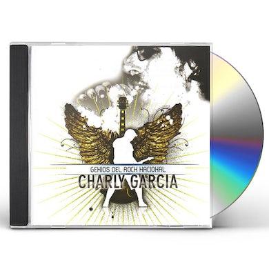 Charly Garcia Pena GENIOS DEL ROCK NACIONAL CD