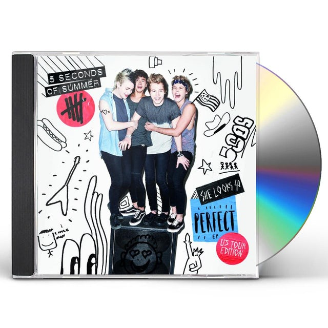 5 Seconds Of Summer SHE LOOKS SO PERFECT CD