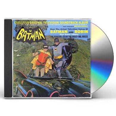 Nelson Riddle BATMAN - TV Original Soundtrack CD