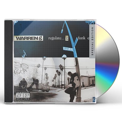 Warren G REGULATE: G FUNK ERA (20TH ANNIVERSARY EDITION) CD
