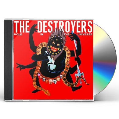 Destroyers HOLE IN THE UNIVERSE CD