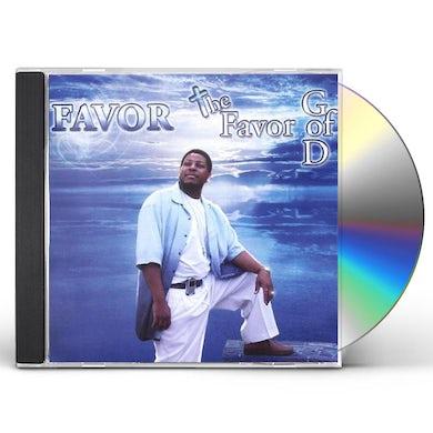 FAVOR OF GOD CD