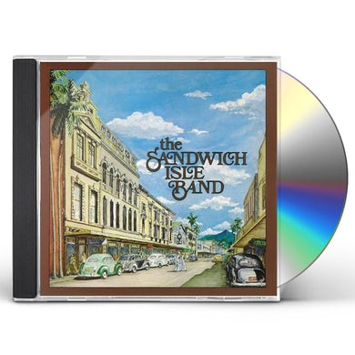 Cyril Pahinui SANDWICH ISLE BAND CD