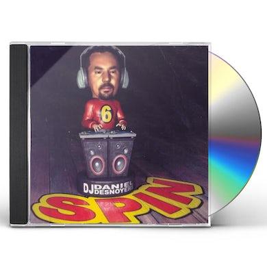 Daniel Desnoyers SPIN 6 CD