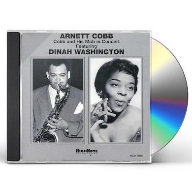 Arnett Cobb COBB & HIS MOB IN CONCERT CD