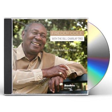 Freddy Cole MUSIC MAESTRO PLEASE CD