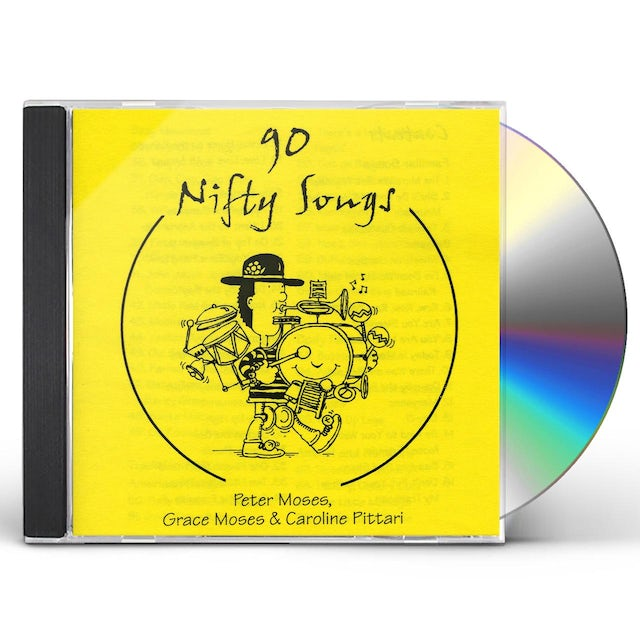 Peter Moses 90 NIFTY SONGS CD