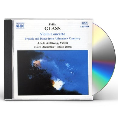 Philip Glass CONCERTO POUR VIOLON CD
