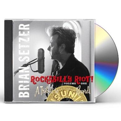 Brian Setzer ROCKABILLY RIOT 1: A TRIBUTE TO SUN RECORDS CD