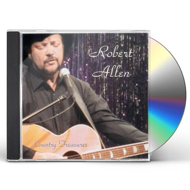 Robert Allen COUNTRY TREASURES CD