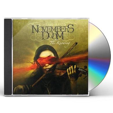 Novembers Doom KNOWING CD