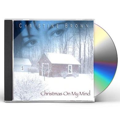 Christine Brown CHRISTMAS ON MY MIND CD