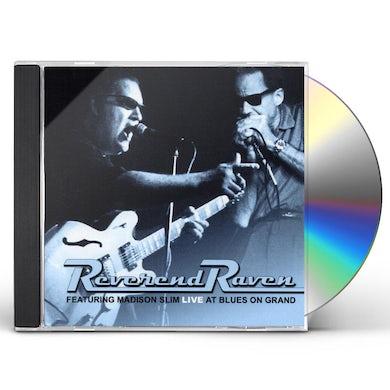 Reverend Raven LIVE AT BLUES ON GRAND CD