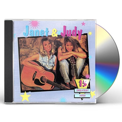 Janet & Judy 15 GREATEST HITS CD
