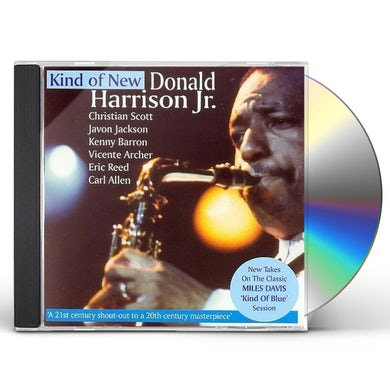 Donald Harrison KIND OF NEW CD