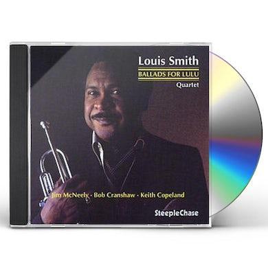 Louis Smith BALLADS FOR LULU CD