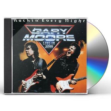 Gary Moore ROCKIN EVERY NIGHT: LIVE CD