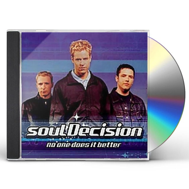 Soul Decision NO ONE DOES IT BETTER CD