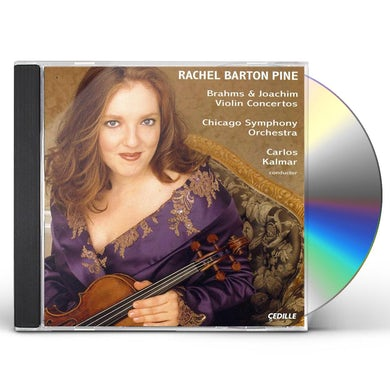 Rachel Barton Pine PLAYS BRAHMS & JOACHIM CD